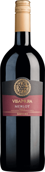 Villa Mura Merlot Veneto IGT 1,0 l 2018 - Sartori di Verona