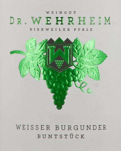 Weißer Burgunder Buntstück 2019 - Dr. Wehrheim von Dr. Wehrheim