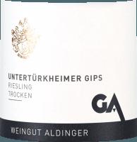 Preview: Untertürkheimer Gips Riesling trocken 2019 - Aldinger