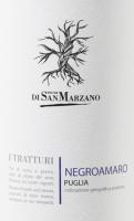 Preview: I Tratturi Negroamaro 2019 - Cantine San Marzano