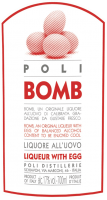 Preview: 2er Vorteilspaket - Jacopo Poli Kreme 17 Bomb Likör mit Ei und Waffelbecher