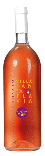 The Rosato Villa Santa Flavia by Sacchetto presents itself in a vibrant rosé that easily blends into the cherry red. A small and fruity bouquet is revealed in the nose. On the palate it is pleasant and harmonious. This cuveé goes perfectly as an aperitif, wonderful with starters and soups of all kinds; but also with meat and vegetable casseroles. A unique and fruity taste experience!