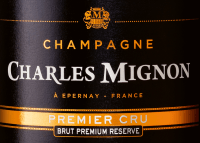 Preview: Brut Premium Réserve Premier Cru - Champagne Charles Mignon