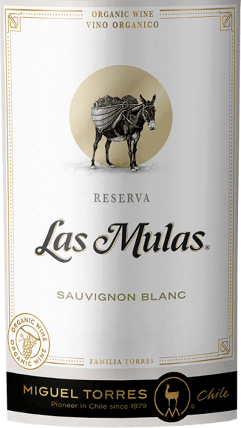 The grapes for the Las Mulas Sauvignon Blanc from Miguel Torres Chile grow on organic vineyards in the beautiful Chilean cultivation area Valle Central. This wine is presented in a glass in a delicate straw yellow with shiny green-golden reflections. Fragrant aromas of fresh grapefruit and lemon fuse with floral notes of fruit blossoms and exotic notes - especially passion fruit - to form a wonderfully aromatic bouquet. On the palate, this Chilean white wine has a silky texture that harmonizes wonderfully with the lively acidity. The aromas of the nose are also reflected, especially the exotic fruit after grapefruit and passion fruit unfolds. The finale offers an aromatic reverberation and pleasant length. Food recommendation for the Torres Sauvignon Blanc Las Mulas Enjoy this dry white wine from Chile with grilled fish with crispy green salads, baked cauliflower or even with fine asparagus quiche.