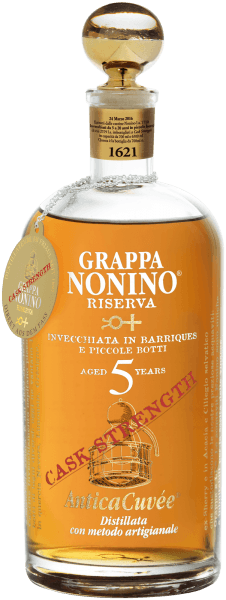 Grappa Antica Cuvée Riserva Cask Strength 5 years - Nonino Distillatori