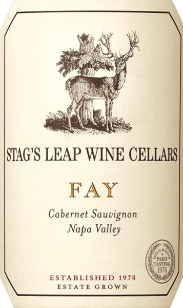 THE FAY Cabernet Sauvignon from Stag's Leap Wine Cellars has its home in the Napa Valley wine region of California. This excellent red wine is vinified exclusively from the Cabernet Sauvignon grape.  The colour of this red wine is deep ruby to plum red with purple highlights. The expressive bouquet is characterized by strong aromas of ripe raspberries, sweetly ripened boysenberries and juicy black cherries, which combine with notes of cinnamon and freshly roasted coffee to create a harmonious, balanced fragrance.  On the palate, this American red wine convinces with a rich dark fruit fullness and perfectly integrated, silky tannin. The body is wonderfully powerful and juicy and is supported by a perfect, warm structure. The finale comes with a wonderful, elegant length and nuances of cooked berries and baking spices.  Vinification of Stag's Leap FAY CABERNET The grapes for this fantastic red wine grow on one of the largest vineyards - FAY Vineyard - in the Napa Valley. The berries are carefully picked  by hand in September and already selected in the vineyard. Once the harvested material has arrived in the Stag's Leap wine cellar, the mash is traditionally fermented in a stainless steel tank. The malolactic fermentation is completely run through. At maturity, this wine is placed in French oak barrels (89% new wood) and rounded off for 22 months.  Food recommendation for the Cabernet Sauvignon Stag's Leap Wine Cellars FAY Enjoy this dry red wine from the USA with fried duck breast with cherry chutney, lamb roast in a herb coat or with spicy matured cheeses. We recommend decanting this wine for at least 2 hours before enjoying it.  FAY Stag's Leap Cabernet Sauvignon Awards Wine Spectator: 94 points for 2015 Robert M. Parker - The Wine Advocate: 93-95 points for 2015 Wine Spectator: 92 points for 2014 Robert M. Parker - The Wine Advocate: 92-95 points for 2014