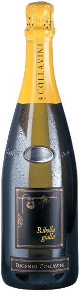"The Ribolla Gialla Brut Millesimato from Collavini is the first spumante made from 100% Ribolla Gialla grapes. Only after a very long maturation period does this award-winning spumante develop its characteristic elegant and gentle character.It is vinified in small oak barrels for 6 months and in a steel tank for a further 28 months. He then rests in the bottle for 8 months to develop into this fine specialty. Food Pairing/Food recommendation for  the Ribolla Gialla Brut Millesimato Vino Spumante by Eugenio Collavini It is a classic aperitif that can also be enjoyed with appetizers and fish. Awards for  the Ribolla Gialla Brut Millesimato Vino Spumante by Eugenio CollaviniJames Suckling: 91 pts. (Vol. 11)Best Italian Wine Award: Special Price ""Top Wine 2013"" Italian Chamberof Commerce: Top Wine 2014 from Friuli"