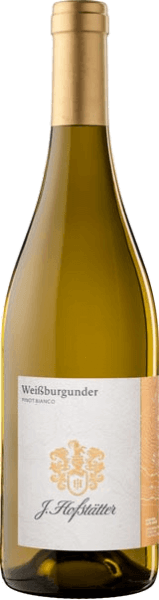 Pinot Blanc Pinot Bianco South Tyrol DOC by J. Hofstätter shines in the glass in clear straw yellow of medium intensity. A floral-fruity bouquet with notes of peach, apple and pear unfolds on the nose. On the palate, this elegant Pinot Blanc from South Tyrol pleases with its harmonious structure, its fresh acidity and fruit and its long, finely nutty finish. Vinification of Pinot Blanc Bianco South Tyrol from the winery J.Hofstätter The grapes for this Italian white wine come from well-owned vineyards with loose, warm marl soils on a hillside with a west-east orientation around Tramin and Kurtatsch.For vinification, the grapes are gently pressed after manual harvesting, the must is clarified by natural sedimentation and then fermented at a controlled temperature. Food recommendation for Pinot Blanc by Tenuta J.Hofstätter This fine Pinot Blanc from South Tyrol is a wonderful accompaniment to light appetizers and fish dishes.