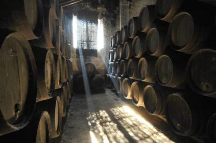 Der Weinkeller in Jerez