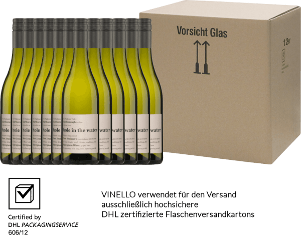 12er Vorteils-Weinpaket - Hole in the Water Sauvignon Blanc 2019 - Konrad Wines von Konrad Wines