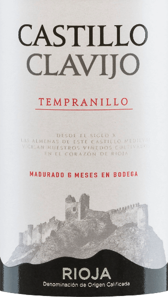 This Spanish red wine is a pure variety wine from the grape Trempranillo. The brilliant red colour of the Castillo de Clavijo Tempranillo Tinto RiojaDOCa by Criadores de Rioja is reminiscent of a sparkling ruby. In the nose, aromas of wild blackberries are complemented by subtle vanilla and wood notes of barrique development. On the palate, this red wine looks soft and juicy fresh, with well-integrated woody nuances, lots of fruity impressions as well as spicy and balsamic notes. This red wine stands for the beautiful balance between dominant fruit and short barrique storage. Vinification of the Castillo de Clavijo Tempranillo The hand-harvested harvested material from the Criadores de Rioja winery is destemmed, ground, mashed and the resulting mash is fermented in a temperature-controlled stainless steel tank. The fermented wine finally matures for 6 months in French and American oak barrels before being bottled. Food recommendation forthe Criadores de RiojaCastillo de Clavijo Tempranillo Enjoy this red wine from Rioja with fresh summer salads, soups, tapas, stuffed vegetables, pasta with meat sauces, pizza, strong meat dishes or mild hard cheeses.