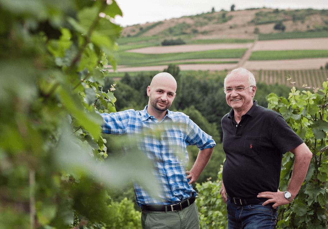 Die Winzer Cornelius und Helmut Dönnhoff