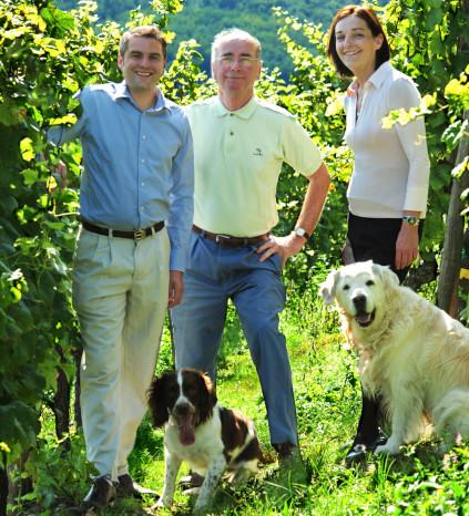 Die Familie Schlumberger keltert seit 1810 Wein aus dem Elsass