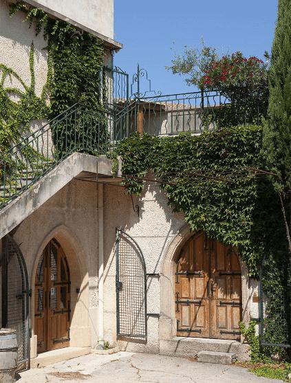 Das Sommerhaus des Papstes
