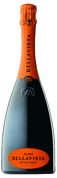 In the glass, the Alma Gran Cuvée brut Franciacorta from Bellavista offers a brilliantly shimmering golden yellow colour. The pearl of this spumante shines in the glass extremely fine, elegant and long-lasting. In the middle, the tone changes into an expressive color. If you give him some air in the glass by swivelling, this spumante is characterized by an incredible brilliance that lets him dance alive in the glass. In the glass, this Spumante by Bellavista presents aromas of cherry blossoms, apples, violets, nashi pears and lilies, complemented by oriental spices, gingerbread spices and cinnamon. This dry spumante from Bellavista is ideal for wine drinkers who like it absolutely dry. The Alma Gran Cuvée brut Franciacorta comes quite close to this, as it was only pressed with 7.8 grams of residual sugar. Light-footed and complex, this melty and crispy spumante presents itself on the palate. Thanks to its vital fruit acid, the Alma Gran Cuvée brut Franciacorta presents itself wonderfully fresh and lively on the palate. The finale of this maturable spumante from the Lombardy wine-growing region, more precisely from Franciacorta DOCG, finally captivates with remarkable reverberation. The finish is also accompanied by mineral hints of the soils dominated by limestone and gravel. Vinification of Bellavista Alma Gran Cuvée brut Franciacorta The elegant Alma Gran Cuvée brut Franciacorta from Lombardy is based on grapes from the Chardonnay, Pinot Blanc and Pinot Noir grape varieties. The grapes grow under optimal conditions in Lombardy. Here the vines dig their roots deep into soils of limestone and gravel. Obviously, the Alma Gran Cuvée brut Franciacorta is also determined by more than just the soil Franciacorta DOCG. This Italian can literally be described as wine of the Old World, which presents itself extraordinarily impressively. When the perfect physiological maturity is ensured, the grapes for the Alma Gran Cuvée brut Franciacorta are harvested exclusively manually 