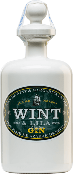The London Dry Gin by Wint & Lila is dedicated to the Spanish Wint & Lila family. This family founded the East India Companies in southern Spain in the 17th century. Only the best botanicals and spices are used for this gin. Already in the nose a wonderfully floral aroma unfolds, which is accompanied by spicy hints. This gin convinces the palate with its fresh and Mediterranean character. Wint & LilaLondon Dry Gin Manufacturing Process Juniper is used as the basis for this Spanish gin. In addition, there are coriander, real angelica and cinnamon. For the freshness of the palate and the uniqueness of this gin are the local botanicals suchas orange peels, orange blossoms, lemons, limes and peppermint from Andalusia. In centuries-old copper bubbles using the 'au bain marie' method, the botanicals are fused together. The distillate is distilled a total of five times. Serving suggestion for the London Dry Gin Wint & Lila Enjoy this gin from Spain solo or in your favourite long drink. You can choose the serving temperature at your own discretion.