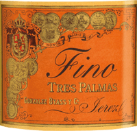 Preview: Tres Palmas Fino 0,5 l - Gonzalez Byass