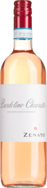 The Bardolino Chiaretto by Zenato from the Italian wine region DOC Bardolino in Veneto is a wonderful fresh, fruity and lively rosé wine cuvée from the grape varieties Corvina, Rondinella and Molinara.  This wine appears in an intense coral pink with violet shine in the glass and unfolds its wonderful bouquet, which is dominated by flowers and summery red fruits such as strawberries and cherries. On the palate, this rosécuvée is animating and harmonious, with a fresh fruitiness. Vinification of the Zenato Bardolino Chiaretto The harvest material for the Bardolino Chiaretto comes from vineyards with dry, loamy and calcareous soils. The climate is Mediterranean, with hot dry summers and mild humid winters. After selective harvesting, the grapes are gently pressed and the must is removed after a short maceration period and fermented in stainless steel tanks under temperature control. Food recommendation for Bardolino Chiaretto Zenato Enjoy this dry rosé wine from northern Italy with starters, mild salads or light pasta.