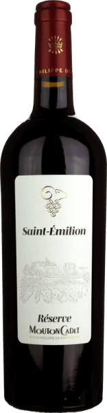 Mouton Cadet Réserve Saint-Èmilion AOC 2017 - Baron Rothschild