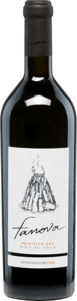 In the municipality OF DOC Gioia del Colle in the Italian wine-growing region of Puglia, the grapes grow for the grape-varietal, full-bodied Fanova Primitivo of Terrecarsiche1939. In the glass, this wine shimmers in a rich ruby red with deep dark highlights. The expressive bouquet offers multi-faceted aromas of juicy cherries, and many red berries (raspberry, red currant and forest strawberry). The aromas of the nose are also reflected on the palate and are accompanied by a fine spice. The body of this Italian red wine is wonderfully full-bodied and harmonious. The reverberation has been present for a long time. Food recommendation for the Terrecarsiche1939FanovaPrimitivo Enjoy this dry red wine in a large red wine glass just solo. But this wine also goes perfectly with beef fillet on potato stew or selected sausage and cheese specialties.