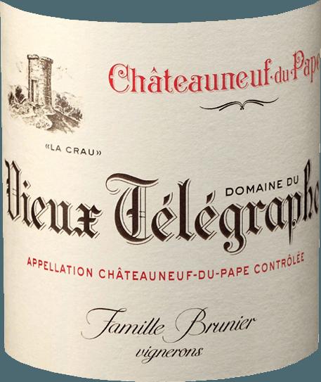 Châteauneuf-du-Pape Rouge AOC 2017 - Vieux Télégraphe von Vignobles Brunier