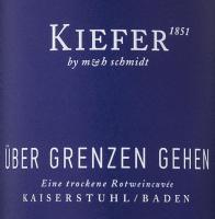 Preview: Über Grenzen gehen 3,0 l Bag in Box Weinschlauch 2018 - Weingut Kiefer