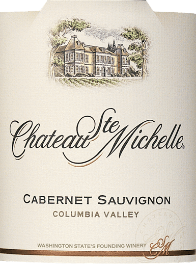 In the American wine-growing region of Columbia Valley, the grapes for the  Cabernet Sauvignon of Chateau Ste grow. Michelle.  In the glass this wine shines in a rich cherry red with purple highlights. The fruity bouquet pampers the nose with intense aromas of blackcurrants, juicy blackberries and ripe cherries - underlined with notes of dark spices, vanilla and filigree nuances of oak. On the palate, this American red wine is juicy and powerful with a concentrated fruit. The silky tannins are very well integrated into the body and harmonize wonderfully with the soft fullness. The long finale features fine fruit sweetness and spicy hints of liquorice.  Vinification of Ste. Michelle Cabernet Sauvignon This intense Washington State red wine is vinified from 87% Cabernet Sauvignon and 6% Merlot, 4% Syrah, 1% Malbec, 1% Cabernet Franc, 1% Petit Verdot. The ripely harvested grapes are destemmed and mixed with different yeast cultures, which maximizes the complexity of the future wine. During fermentation, the shell hat is gently pumped down so that color, aromas and soft, gentle tannins are extracted. The wine then matures for 16 months in American and French oak wooden barrels, 32% of which are new.  Food recommendation for the Cabernet Sauvignon Chateau Ste. Michelle This inviting Cabernet Sauvignon from North America is a perfect accompaniment to blue cheese, pasta, beef and veal, seasoned with rosemary, pepper, thyme and accompanied by a fine moustache.