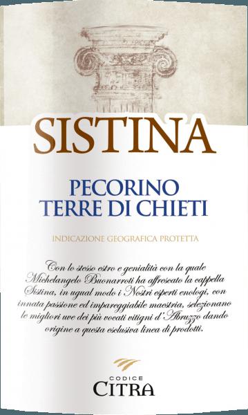 Sistina Pecorino Terre di Chieti IGT 2019 - Citra Vini von Codice Citra
