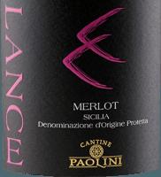 Preview: Lance Merlot Sicilia DOC 2018 - Cantine Paolini