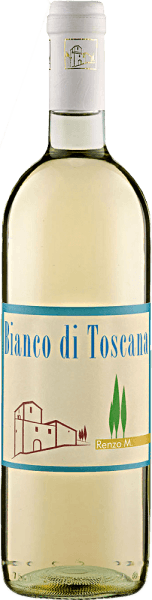 The Bianco di Toscana IGT by Renzo Masi is a cuvee of Trebbiano and Chardonnay and presents itself in a light straw yellow in the glass. Fragrant-fruity aromas of crisp apples and pears can be perceived in the nose. On the palate it looks light and fresh with the delicate fruit tones of citrus and mirabelle and a hint of herbs. Food recommendation for the Bianco di Toscana IGT by Renzo Masi Enjoy this dry white wine as an aperitif or with antipasti and tapas, fish and shellfish, or with pasta with light sauces.