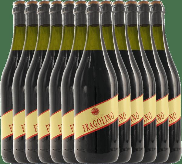12er Vorteilspaket - Fragolino Rosso - Terre del Sole