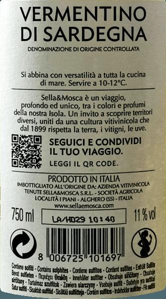 Vermentino di Sardegna DOC 2019 - Sella & Mosca von Sella & Mosca