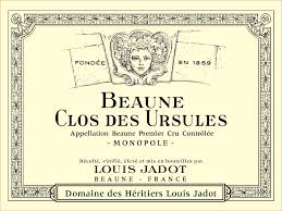 Louis Jadot Clos des Ursulus Etikett