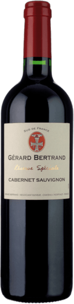 The Réserve Spéciale Cabernet Sauvignon by Gérard Bertrand is presented in the glass in a dark cherry to magenta red with a reddish-violet shimmer. The aromatic bouquet unfolds with the nuances of finely sweet, ripened black and red currants, blueberries and plums. These fruit notes are accompanied by spicy notes, such as laurel, pepper, mocha and vanilla. Fine roasted notes and woody hints complement. This southern French red wine is powerful on the palate and fleshy with concentrated fruit. This is in excellent balance with the ripened tannins and the lively acidity. Spicy and full-bodied, this wine leads into an aromatic aftertaste with dark chocolate, toast and vanilla. Vinification for the Gérard Bertrand Réserve Spéciale Cabernet Sauvignon For this Cabernet Sauvignon, only the best, optimally ripened grapes are harvested and destemmed by hand. They are then fermented at a controlled temperature of 28-30 ° for a period of 20-25 days. The natural concentration of aromas and tannins is achieved by the repeated circulation of the wines. After completion of the alcoholic fermentation, this wine is removed from the mash and aged for about 10 months in wooden barrels. After bottling, the Réserve Spéciale Cabernet Sauvignon is refined in the bottle for a further 3 months. Food recommendation for the Gérard Bertrand Réserve Spéciale Cabernet Sauvignon Enjoy this dry red wine with grilled or fried meat and poultry, roast beef, spicy pasta or spicy mountain cheese.