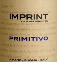 Preview: Imprint Primitivo Puglia 2019 - A Mano