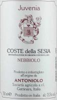 Preview: Nebbiolo Juvenia Coste della Sesia DOC 2016 - Antoniolo