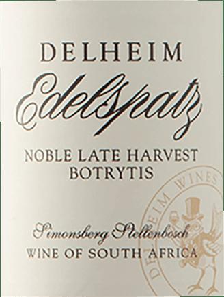 Edelspatz Noble Late Harvest 0,375 l 2018 - Delheim von Delheim Wines